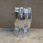 ColdBrew VI silver, 2021, 15x15x24cm