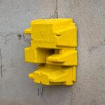 ColdBrew VII yellow, 2021, 13x19x8cm